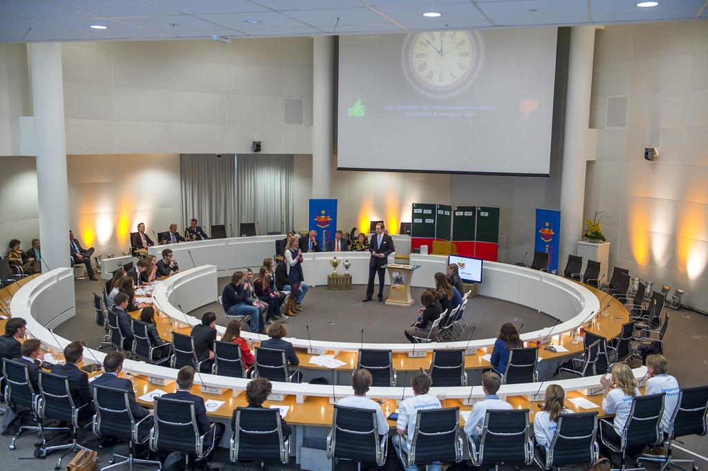 Scholierendebat georganiseerd door Het Debatbureau