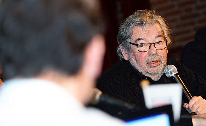 Maarten van Rossem tijdens een van onze evenementen