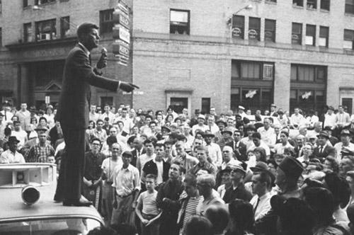 Kennedy speaking