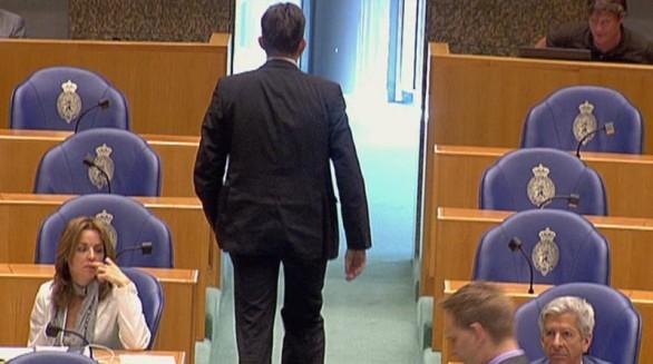 Emile Roemer verlaat het debat