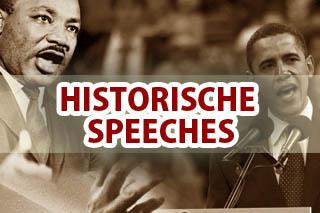 Historische Speeches - Het Debatbureau